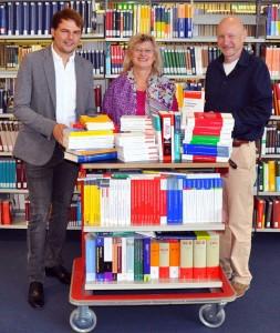 Buchspende Saufen für die Bib 2014